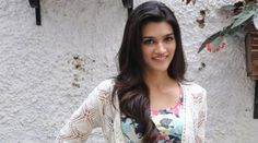 Young actress Kriti Sanon watched her all time favourite film, Dilwale Dulhania Le Jayenge starring Shah Rukh Khan and Kajol, at the only theatre in the country screening the film.