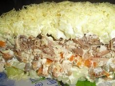 Самые вкусные рецепты: Салат с мясом и грибами