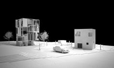 younghan chung visualizes modular 6x6 house