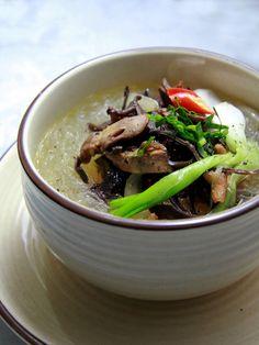 miến nấu lòng gà, vietnamese food