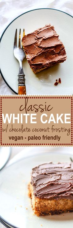 Easy Vegan White Cak
