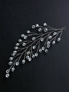 99 Modern Diy Hair Accessories Ideas For You Asap 99 Modern Diy. - 99 Modern Diy Hair Accessories Ideas For You Asap 99 Modern Diy Hair Accessories Ideas For You Asap - Diy Hair Jewellery, Bridal Jewelry, Beaded Jewelry, Hair Accessories For Women, Wedding Hair Accessories, Diy Accessoires, Hair Beads, Hair Ornaments, Silver Hair