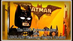 """Jump into a bat-tastic day at LEGOLAND Discovery Centre Toronto! See everything that this Vaughan Mills attraction has to offer while celebrating """"The LEGO B. Lego Batman Movie, Legoland, Discovery, Toronto, Centre, Content, Note, Superhero, Movies"""