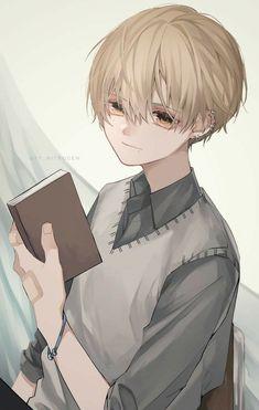 Anime Chibi, Manga Anime, Anime Artwork, Fantasy Artwork, Cool Anime Guys, Anime Boys, Beautiful Dark Art, Cute Art Styles, Sad Art