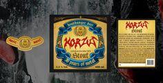 Job: Headbanger Beer. Client: Korzus. Country: Brazil.
