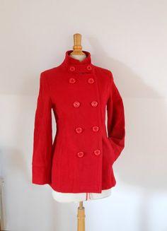 Manteau rouge 3 suisses