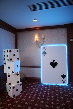 casino decor for casino party or boardwalk empire party or event