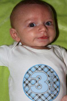 Ezra 3 months old
