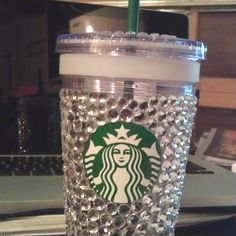 Bedazzled Starbucks cup