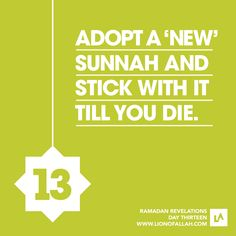 Ramadan Revelations: Day Thirteen A reward earning challenge till you depart! We all understand that the Prophet Muhammad SWS had practiced and performed more than hundreds and thousands of actions in. Ramadan Tips, Ramadan 2016, Ramadan Day, Religious Quotes, Islamic Quotes, Hindi Quotes, Reading Al Quran, Ramadan Karim, Ramadhan Quotes