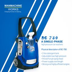 Manmachine Works is biggest supplier of , Single Phase High Pressure and car wash machine PAN India at the best prices Car Wash Equipment, Automatic Car Wash, Car Wash Business, Car Washer, Washer Machine, Car Vacuum, Washers, Used Cars, Running
