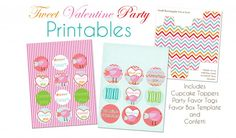 More free Valentine's Day printables