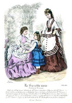 1870s Fashion, Edwardian Fashion, Victorian Ladies, Vintage Ladies, 80s Outfit, Belle Epoque, Fashion Plates, Fashion History, 19th Century