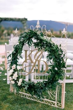 Greenery Details For Spring or Summer Wedding ideas www.MadamPaloozaEmporium.com www.facebook.com/MadamPalooza