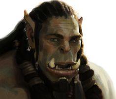 Warcraft: Durotan by TalaStrogg on DeviantArt World Of Warcraft Orc, Supernatural, Monsters, Deviantart, Anime, Painting, Painting Art, Cartoon Movies, Paintings
