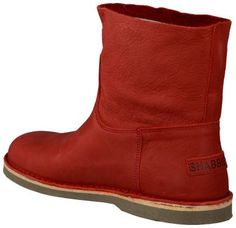 SHOP - SHOES - SAVE! - en dit paar Shabbies in verleidelijk rood voor €139??? - ( maten 37,38,39,40,43!) - online kopen bij Omoda Schoenen
