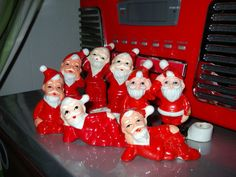These elves are in charge of Christmas music.