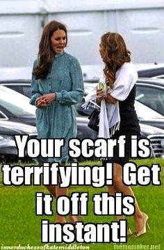 Ack! (The Inner Duchess of Kate Middleton)