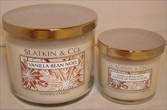 Slatkin & Co. Vanilla Bean Noel Candle