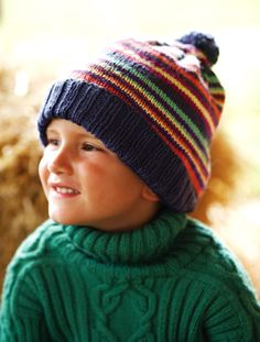 We've got of free knitting patterns to inspire you: from blanket knitting patterns to cardigans, hats, scarves and adorable free baby knitting patterns! Knitting Patterns Free, Free Knitting, Baby Knitting, Free Pattern, Knitted Hats Kids, Knitted Bags, Sweaters Knitted, Knit Hats, Baby Sweaters