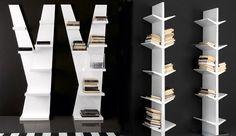 15 Creative Ideas To Store Your Books | http://www.designrulz.com/product-design/storage-items/2010/12/15-creative-ideas-store-books/
