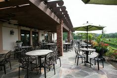 View of the Richland Patio