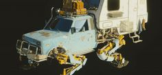 Blender 3D Sci Fi Vehicle Showcase