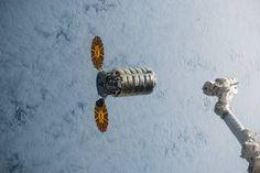 Orbital ATK's Cygnus cargo spacecraft