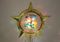A disco ball for your Christmas tree!  Vintage Bradford Celestial Star Motion Light by cybersenora, $165.00