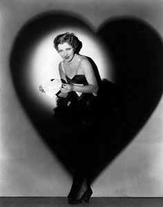 Vamps and Flappers — cinematicfinatic: Jean Arthur …. Happy Valentine's My Funny Valentine, Saint Valentine, Vintage Valentines, Vintage Holiday, Valentine Photos, Jean Arthur, Golden Age Of Hollywood, Vintage Hollywood, Classic Hollywood