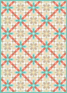 Here are 50 free patterns for lattice quilts, basket weave, interlocking rings and plaid designs! Lattice quilts are made with strips that f...