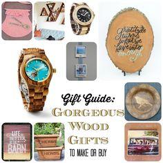 Holiday Gift Guide: Natural Wood Gifts - Morena's Corner