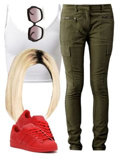 """""""After school """" by trillest-queen ❤ liked on Polyvore featuring 3.1 Phillip Lim, Wildfox and adidas Originals"""
