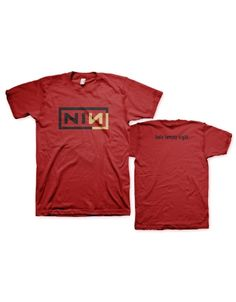 Nine Inch Nails Corner Box Mens T-Shirt - Guaranteed Authentic.  Fast Shipping.