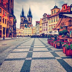 """""""Old Town Square 