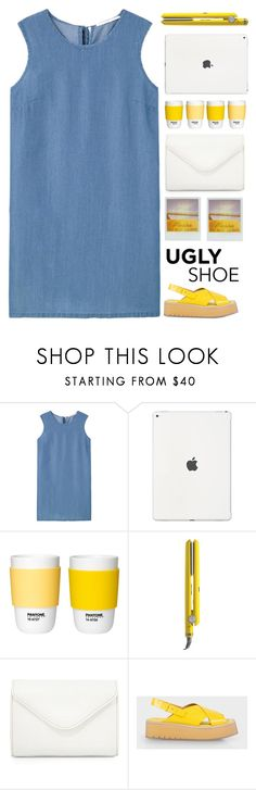 """Ugly (But Chic?!) Shoes"" by dianakhuzatyan ❤ liked on Polyvore featuring MANGO, Drybar, Neiman Marcus and Paul Smith"