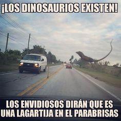 #dangerous dinosaurios... #Peligros y #distracciones al #conducir