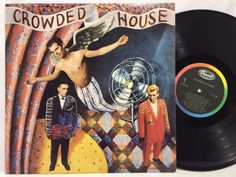 Crowded House - Capitol Records EMI 1986 - ST-12485 LP #Vinyl Record