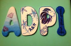 Finished my Adpi letters!