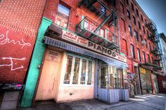 One of my favorite nightlife spots! Pianos Bar  Restaurant, 158 Ludlow NYC. Great drinks, music and dancing!