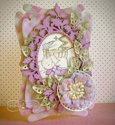 Floral Wreath, Stamps, Coloring, Wreaths, Cards, Home Decor, Seals, Homemade Home Decor, Door Wreaths