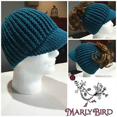 Get a Free Crochet Messy Bun Hat Pattern that is for Him and Her! The Ribbed For Him and Her hat pattern is a fun project to crochet. It does take a bit more time than a simple double crochet messy bun hat but it is worth it!