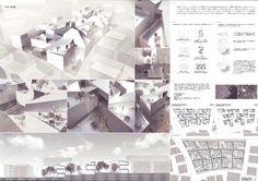No.605 陸野雅人(積水ハウス) 森本大悟(芝浦工業大学大学院) Japan Architecture, Architecture Student, Architecture Design, Type Setting, Diy And Crafts, Presentation, Photo Wall, Layout, How To Plan