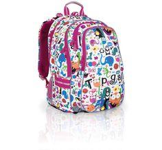 aj tato taška je veľmi pekná a farebná.. tiež vhodná pre 1 až 5 ročník.. našla som ju na www.topgal.sk