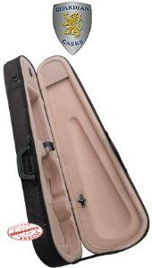 Guardian Featherweight Violin Case 4/4 by Guardian. $69.95. Guardian Featherweight Violin Case, CV-015. Guardian makes bags and cases with focus on total protection, security and transportability. Guardian offers a full line of dependable instrument bags and cases for many instruments. Creating the best in durable nylon DuraGuard bags and featherweight, hard-shell and thermoplastic cases, Guardian makes sure every instrument will be safe and protected for years to come. Featu...