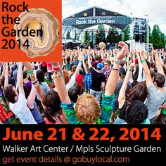 On 6/21-22, the Twin Cities' favorite summer concert returns, Rock the Garden 2014 ...showcasing music from our backyards and around the world! Get the details -> http://gobuylocal.com/offerseo/Minneapolis-MN/Local_Event/3738/4125 #event