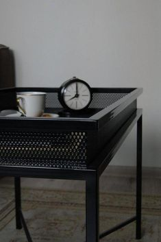 Bespoke Metal Coffee Table (LxHxD) in Black Industrial Tv Stand, Industrial Design Furniture, Industrial Interiors, Rustic Industrial, Metal Furniture, Furniture Projects, Towel Hangers For Bathroom, Wooden Stools, Colorful Chairs