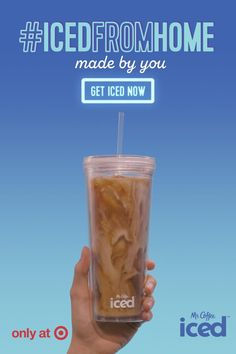 Flavorful iced coffee is just minutes away with the Mr. Coffee Iced™ Coffeemaker Iced Coffee Maker, Coffee Coffee, Iced Coffee Machine, Coffee Drinks, Morning Coffee, Spiced Coffee, Black Coffee, Coffee Break, Coffee Time