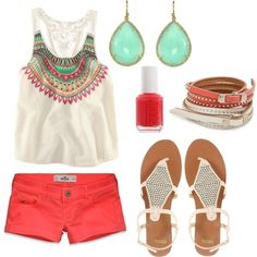 Cute make the shorts a bit longer and i'd wear it for summer.