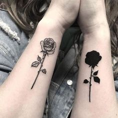 42 Fashionable Arm Tatoo Ideas for Woman In 2019 - Page 33 of 42 - PinningFashio. Petite Tattoos, Bff Tattoos, Friend Tattoos, Mini Tattoos, Body Art Tattoos, Small Tattoos, Tatoos, 3 Sister Tattoos, Disney Sister Tattoos